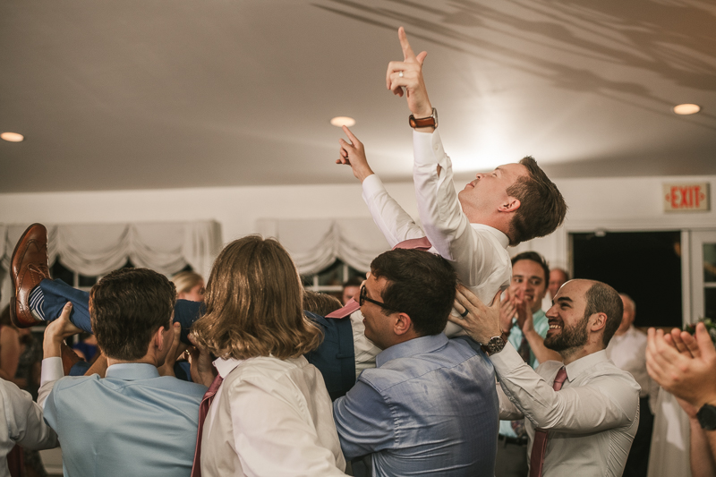A fun and classic wedding reception at Antrim 1844 in Taneytown, Maryland by Britney Clause Photography