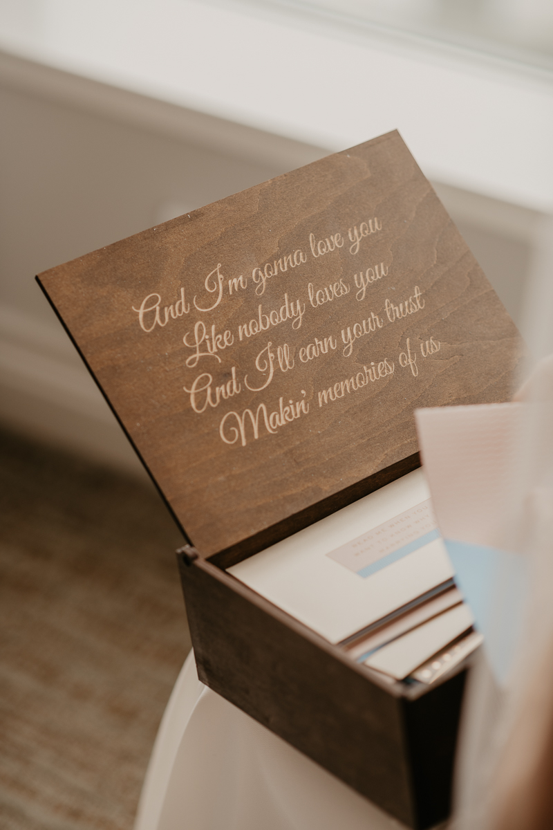 Unique wedding day gifts for brides and grooms by Britney Clause Photography