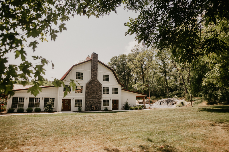 A summer wedding in August at Historic Rosemont Springs, Virginia by Britney Clause Photography