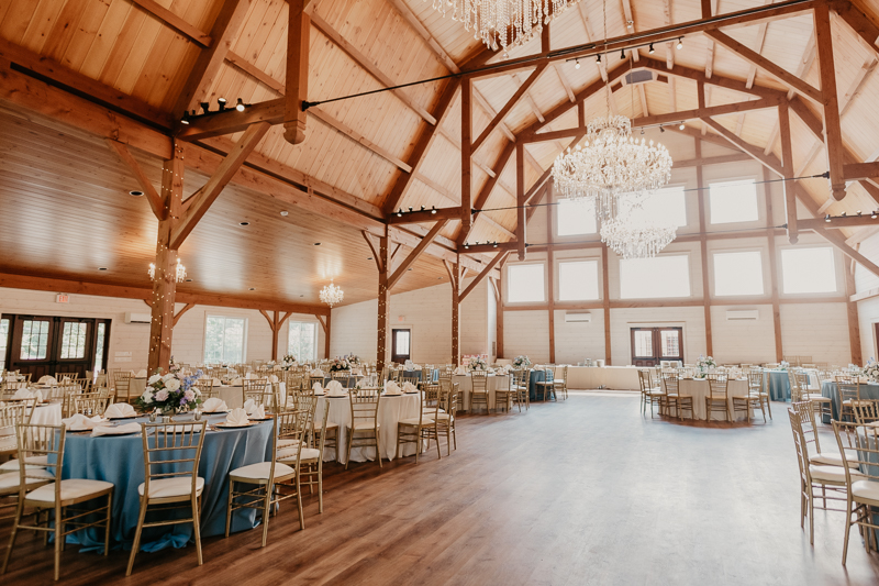 Magical wedding reception decor at Historic Rosemont Springs, Virginia by Britney Clause Photography