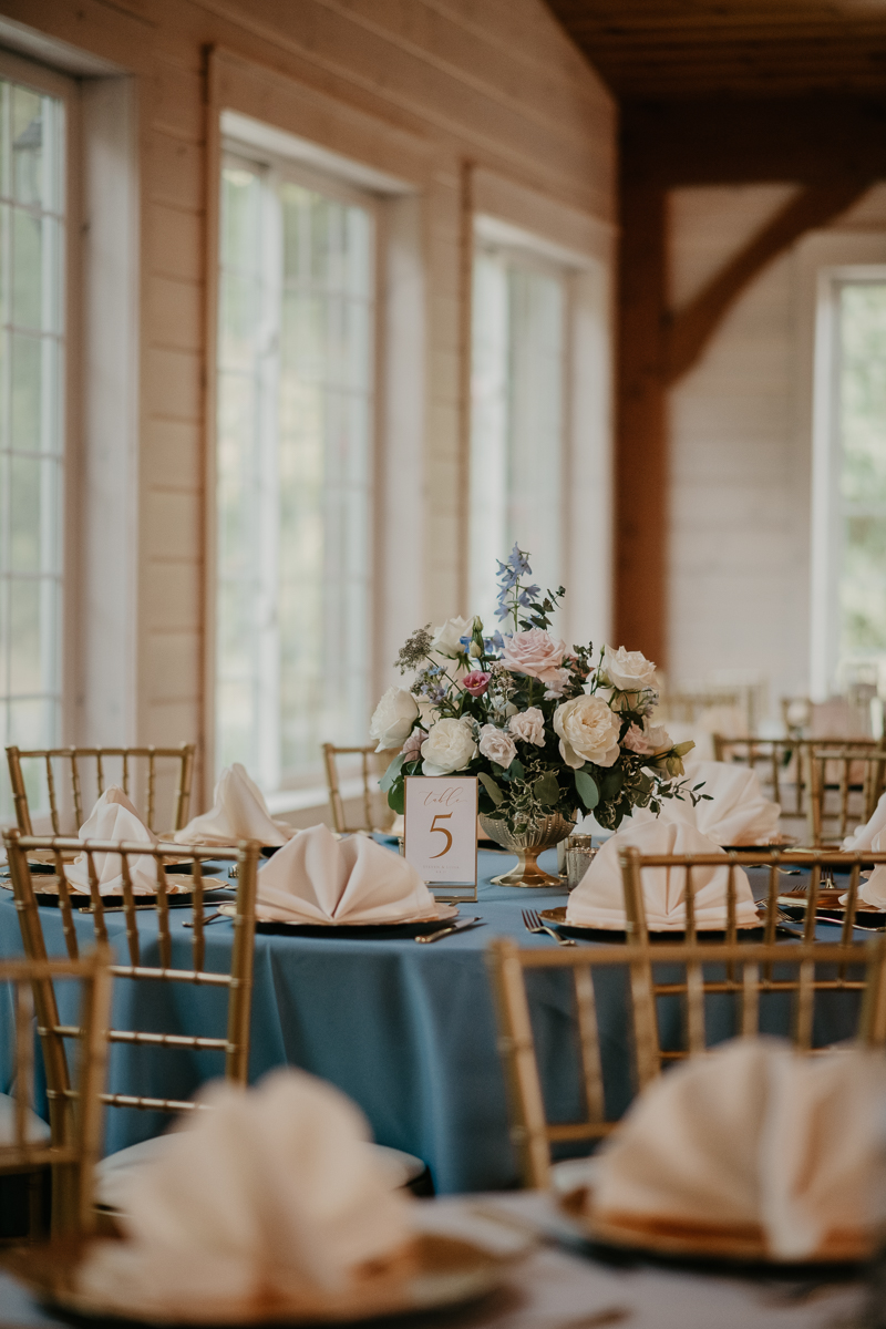 Amazing wedding florals by Bee Inspired Events at Historic Rosemont Springs, Virginia by Britney Clause Photography