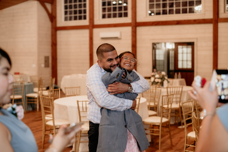 A fun wedding reception at Historic Rosemont Springs, Virginia by Britney Clause Photography