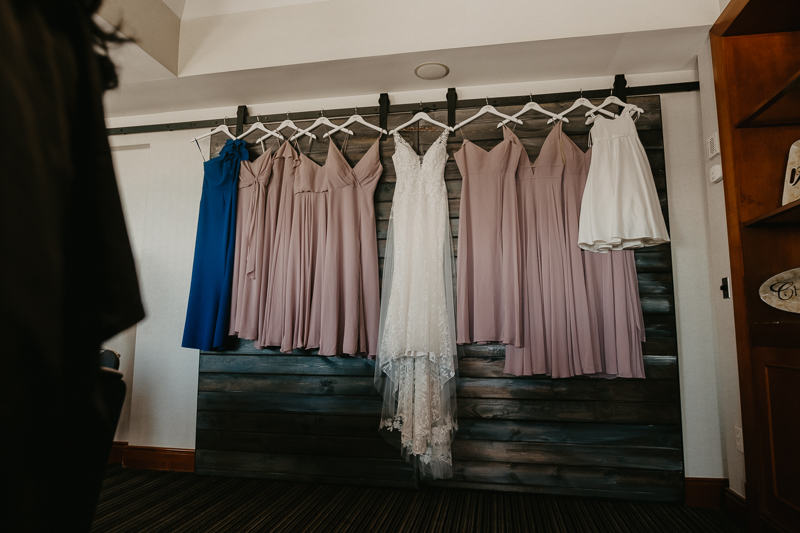 Gorgeous wedding details at The Hyatt Regency Chesapeake Bay, Maryland by Britney Clause Photography
