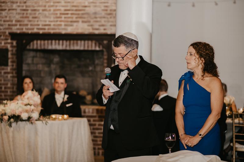 A fun wedding reception at The Hyatt Regency Chesapeake Bay, Maryland by Britney Clause Photography